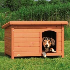 Hundkoja hundg rd - Comment fabriquer une niche pour chien facilement ...